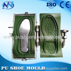 aluminum pu sole mould