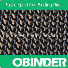 Eco Plastic spiral coil binding children books