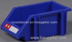 Industrial combined plastic storage bin