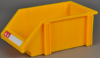 Industrial stackable combined storage bin
