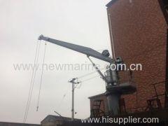 Hydraulic Crane and Davit