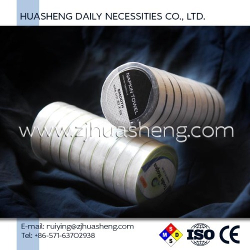 2017 wholesale spunlace nonwoven compressed towel