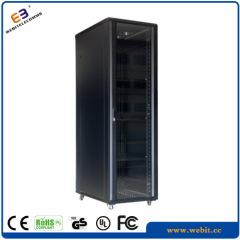 """19"""" glass door data rack cabinet"""