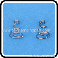 nickel plated steel battery spring copper spring battery contact