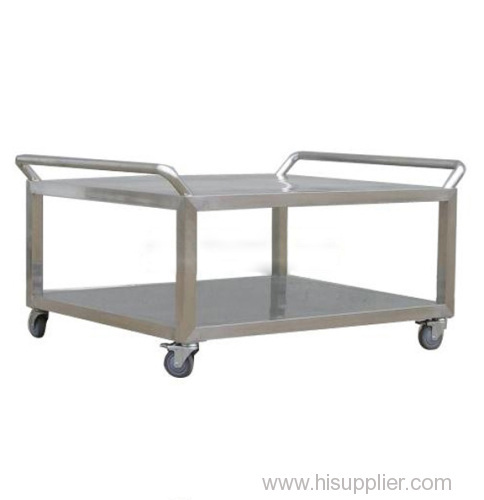 Stainless steel rack car for cleanroom