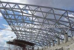 Steel structure shed truss structure canopy