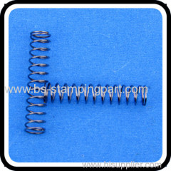 spring steel compression spring