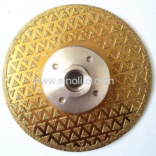Titanium Finish Diamond Electroplated Saw Blade 4-1/2 (115mm)