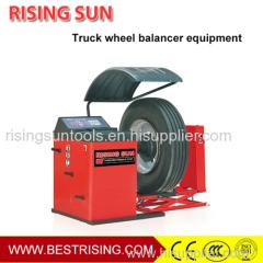 Truck repair used wheel balancing machine