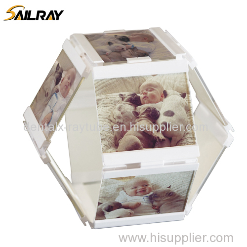 "4""*4""Leggy Horse New Style Acrylic PU Photo Frame/Picture Frame for Home Decoration (10 piece set)"