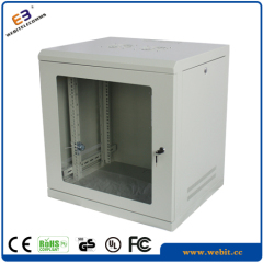 19 inch S rail heavy duty wall mounted cabinets