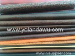 PVC leather vinyl fabric