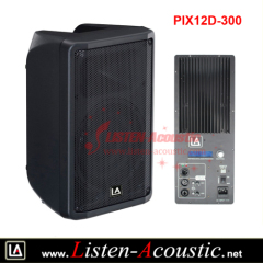 12 inch High Quality Plastic Yamaha DBR series Speaker Box with DSP Amplifier Module PIX12D-300