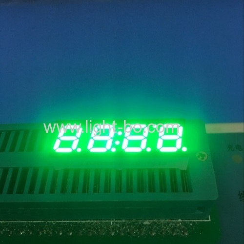 "4 digit small 7 segment ; 4 digit 0.28"" led display; pure green 7 segment"