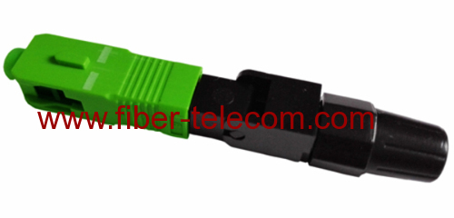 SC APC FTTx fast connector type A