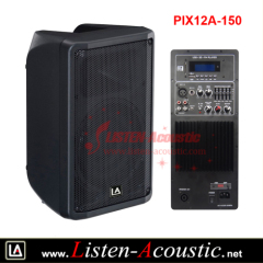 12 inch Newly Designed Plastic Yamaha DBR series Speaker Box with Analog Amplifier Panel