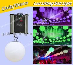 Disco Club Bar DMX RGB led lifting ball/disco light/party lights/ wendding lighs