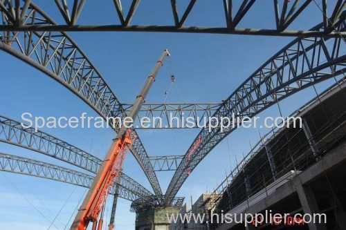 Prefabricated steel structure steel truss structure roofing
