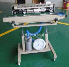 Continuous Cellophane Band Sealer with Nitrogen Flushing band sealer cellophane band sealer