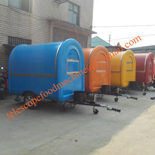 hot dog mobile food cart crepe fast food trailer grinddle mobile