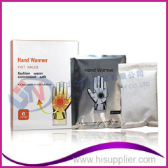 OEM provided +6 Hours hand warmer