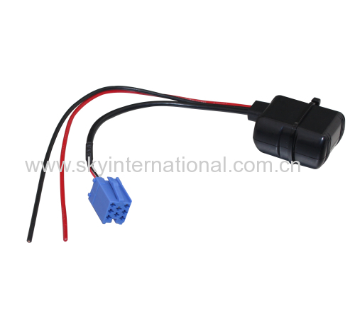 Bluetooth module for Blaupunkt radio stereo Aux cable car audio cable