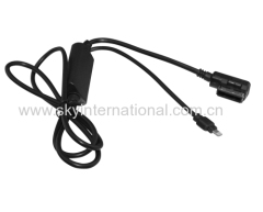 AUX Cable for Mercedes Benz for iPhone 5 6 7 Plus Charge and Play Music