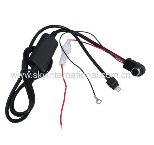AUX Cable For JVC Alpine AI-NET Radio Charge and Play Music for iPhone 7 7 plus