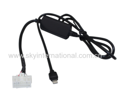 Aux cable for Mazda5 Mazda 6 Mazda2 Mazda 3 MX5 RX8 For iPhone 7 7 Plus