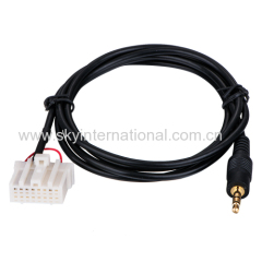 Aux cable for Mazda5 Mazda 6 Mazda2 Mazda 3 MX5 RX8 car audio parts