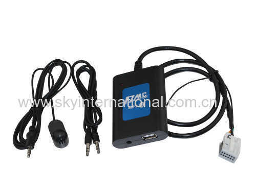 DMC BLUETOOTH USB AUX MP3 INPUT FOR VW WITH MICROPHONE FOR VW 12P