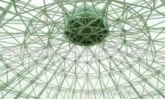 高品質の鉄鋼構造屋根宇宙フレーム乾燥石炭杼口