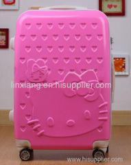 Promotion collection valise rose hello kitty voyage bagages bonjour kitty valise