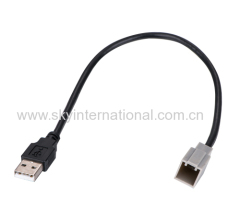 AUX cable for For Select Toyota & Lexus OEM USB Retention Adapter