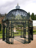 Beautiful wrought iron gazebo
