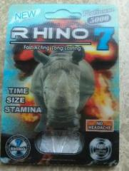 New Rhino 5000 Sex Pills Male Sex Enhancer Top Quality Factory Price
