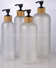 empty frosted china pet plastic spray packaging bottle