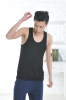 Apparel & Fashion Leisure Wear Men's Seamless T-shirt Tank Bamboo Sleeveless Muscle Tee Shirt Plain Colors