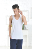 Apparel & Fashion Leisure Wear YUSON Seamless Bamboo Square Cut Tank Tops For Men