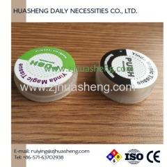 Push napkins plastic case perfume