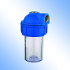 Transparent water purifier housing