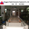 Feiyide Semi-automatic Barrel Plating Production Line for Hardware Parts with Customized Size