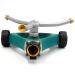 Metal 3-arm lawn water wheel sprinkler