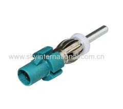 car radios stereo Antenna adaptor fakra to din adaptor convertor plug lead