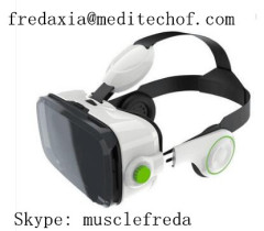 VR-Box With Earphones All-in-one Head-mounted Virtual Reality Glasses 3D Glasses 3D Movie 3D Game VR-Wind For Mobile P