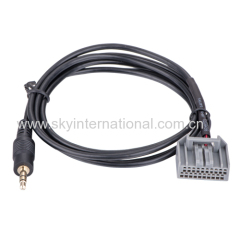 Aux cable for Honda CRV Civic car audio parts