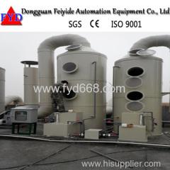 feyide машина очистки газа вертикального типа отходов для гальванического оборудования