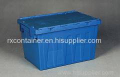 取り付けリッド固体積み重ね可能な移動容器
