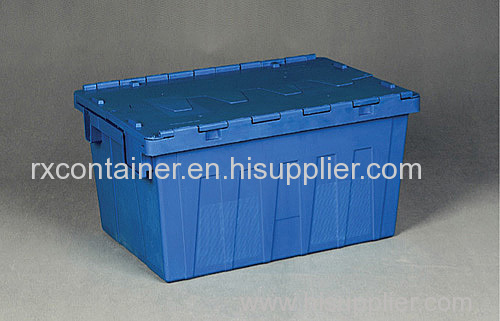 High Quality Attached Lid Plastic Container