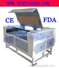 1200*800MM Plastic Laser Cutting Machine for from Sunylaser